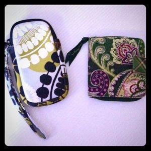 Two Vera Bradley wallets